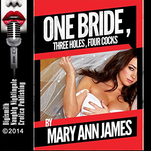 One Bride, Three Holes, Four Cocks, or More audiobook cover art