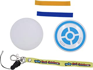 Mcbazel Pocket Dual Catchmon, automatische Pocket Pokemon met siliconen jas (blauw en wit)