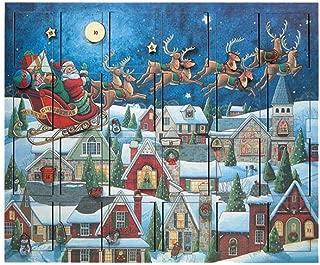 Byers' Choice Musical Advent Calendar Santas Sleigh #MC07 (New 2019)