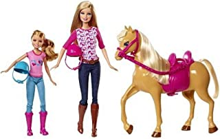Barbie Pinktastic Sisters Riding Lessons