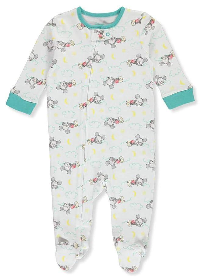 サイクロプスミルク五Disney Boys' Disney Baby Mickey Mouse Cotton Infant Cotton Sleeper
