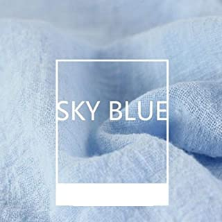 Tela de lino, 130 x 100 cm, lino natural puro, cambric, ecológica, telas para manualidades, pintura, decoración del hogar,...