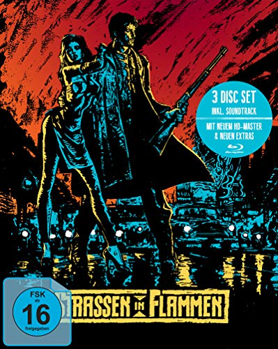 Straßen in Flammen (Mediabook, + Bonus-Blu-ray + Soundtrack-CD)