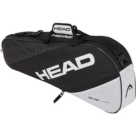 HEAD Unisex's ELITE 3R Pro Tennis Bag, Black/White, One Size