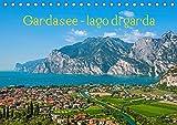 Gardasee - lago di Garda by Sascha Ferrari (Tischkalender 2019 DIN A5 quer): Kalender mit eindrucksvollen Bildern vom Gardasee (Monatskalender, 14 Seiten )