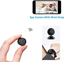 AOBO Mini Spy Camera Wireless Hidden Home WiFi Security Cameras with App 1080P Night Vision Motion Activated Indoor Outdoor Small Nanny Cam for Cars Apartment Live Streaming with iPhone/Android Phone