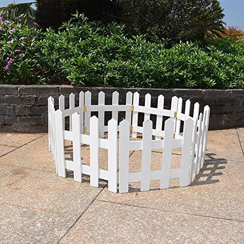 cuffslee Weihnachtsbaum Zaun | Miniatur Garten Zaun | Minizaun | Mini Holzzaun Garten Dekoration | Zaun Grenze, Garten Dekoration Ornament