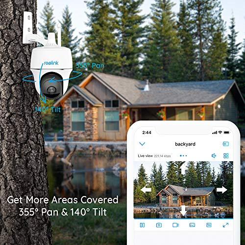 Caméra de surveillance Reolink Argus PT 1080P FHD sans fil 2