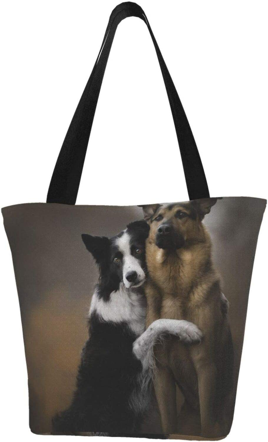 AKLID Sister Ranking TOP7 Hound Dog Extra Large Great interest Water Resistant Tote B Canvas