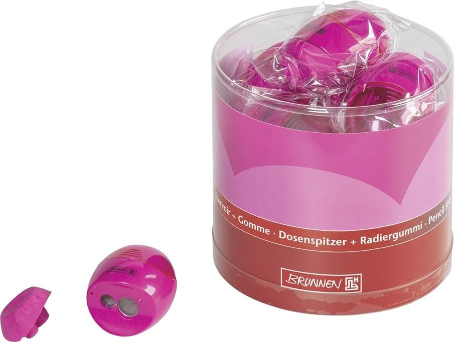 Brunnen Colour Code (102987926?Pencil Sharpener with Eraser Metal Sharpener, 60?x 41?x 24?mm White