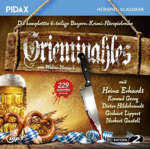 Grieminahles / Die komplette 6-teilige Krimi-Hörspielreihe, u.a. mit Heinz Erhardt, Dieter Hildebrandt (Pidax Hörspiel-Klassiker)