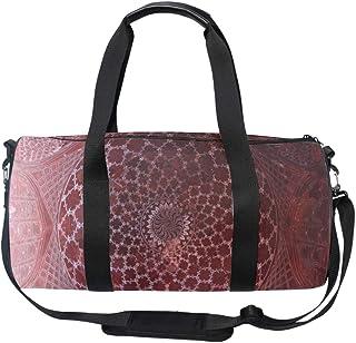 Unisex Travel Duffels Gym Bag Funny Cartoon Dragon Canvas Weekender Bag Shoulder Bag Totes bags