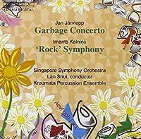 ヤルヴレップ:ゴミ協奏曲 イマンツ・カリーニンシュ:ロック交響曲(交響曲第4番)