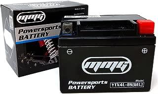 MMG YTX4L-BS Gel Cell High Performance sealed Battery, ATV TaoTao Cheetah TForce ATA 110cc and ATA 125cc Series