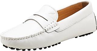 Shenduo Classic, Mocassins Femme Cuir - Loafers Multicolore - Chaussures Bateau & de Ville Confort D7052