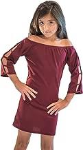 Cheryl Creations Kids Cutsleeve Long Sleeve Tight Dress