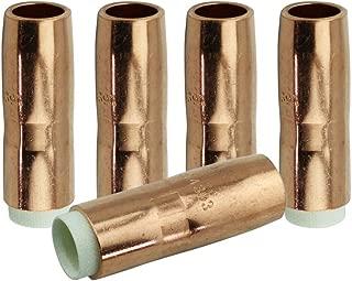 WeldingCity 5 Gas Nozzles 4393 5/8