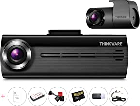 Thinkware FA200 2CH Dual Channel Dash Cam | Hard-Wiring Kit & 16GB Micro SD Card Included