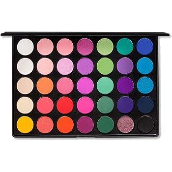 u Kara Beauty Professional - Paleta de maquillaje profesional ES02-35 color brillante y mate sombra de ojos: Amazon.es: Belleza