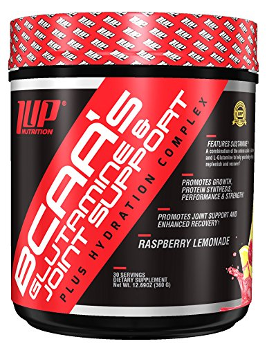 1Up Nutrition His Bcaa's Glutamine & Joint Support Plus Hydration Complex, Raspberry Lemonade