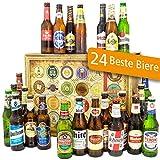 24x Bier aus der Welt/Biere aus der Welt/Männer Geschenk Ihn