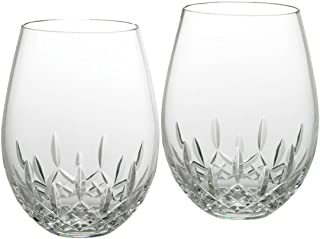 Waterford Lismore Nouveau Stemless Deep Red Wine Pair (136-879)