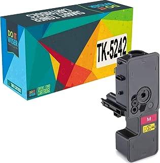 Do it Wiser Compatible Toner Cartridge Replacement for TK-5242 Kyocera Ecosys M5526cdw P5026cdw P5026cdn M5526cdn   TK-5242M 1T02R7BUS0 (Magenta)
