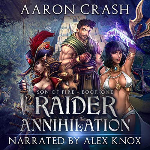 Raider Annihilation audiobook cover art