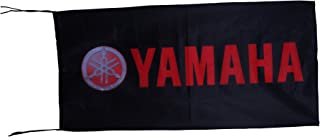 YA-MAHA Flag Banner Black & Red Horizontal Wide 3 X 5 ft (for Garage, Trade Shows, Sport Events, Car Sales, etc)