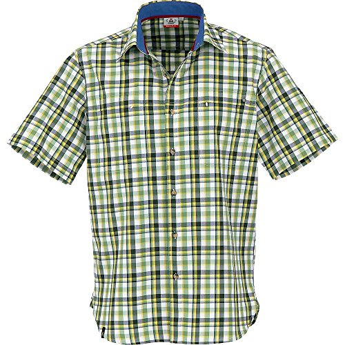 Maul Chemise Outdoor Chemise à Carreaux Fonction Chemise Protection UV Gibraltar Spring Green Small - Vichy