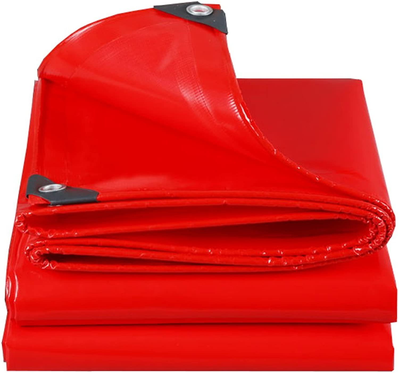 Mehrzweck Plane Plane Plane Rote Plane Planen Tarnung Multifunktions Poncho für Camping Angeln Garten Sonnenschutz Kälteresistenz, Dicke 0,45 MM, 500G   m², 14 Größe erhältlich Schutzplane (größe   4m6m) B07K581BLN  Won hoch 88978d