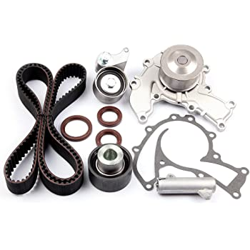 Amazon Com Dnj Tbk351wp Timing Belt Kit With Water Pump For 1995 1997 Acura Honda Isuzu Passport Rodeo Slx Trooper 3 2l Sohc V6 24v 3165cc 6vd1 Automotive