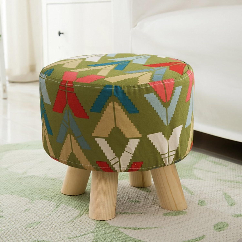 Cloth Small Stool, Creative Living Room Simple Stool, Living Room Home Fabric Simple Sofa Small Stool,D