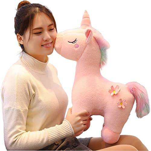 SCOOBA Super Soft Plush Unicorn Toy Soft Stuffed for Kids 50 cm-Large Single Piece(Made in India)