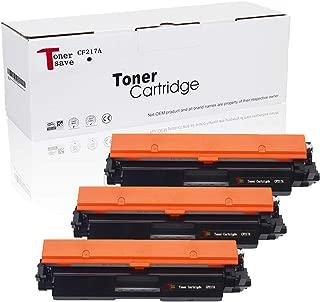 TonerSave 17a CF217A Toner HP 17A Toner Cartridge for HP Laserjet Pro MFP M130fw M130nw M130fn M130a HP Laserjet Pro M102w M102a Printer 3 Pack