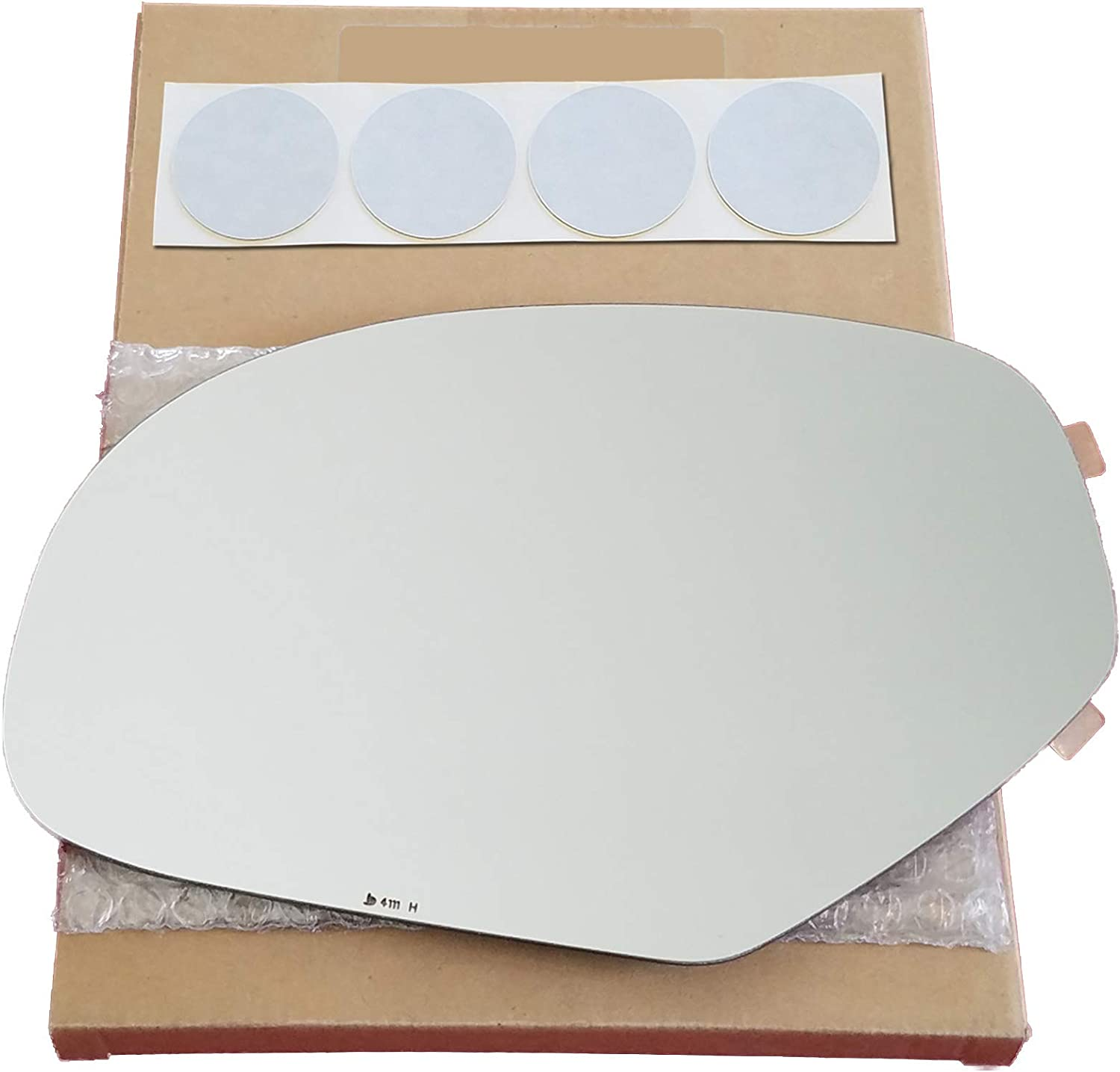 Mirror Nippon regular agency Glass Replacement Many popular brands + Adhesive Pads for Sierr GMC 2007-2013