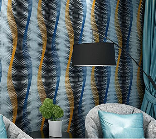 Cczxfcc Modern Abstract Curve Stripes Wallpaper Simple 3D Restaurant Wallpaper Bedroom Sofa Living Room Tv Background Wallpaper Wallpaper Green