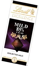 Lindt Excellence 85% Cacao Dark Chocolate Mild (4 x 100g)