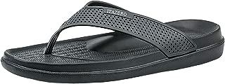 [Smilefoot] ビーチサンダル メンズ 男性用 軽量 通気 柔らかい 痛くない 滑り止め 島ぞうり 室内履き サンダル アウトドア 海 プール リゾート
