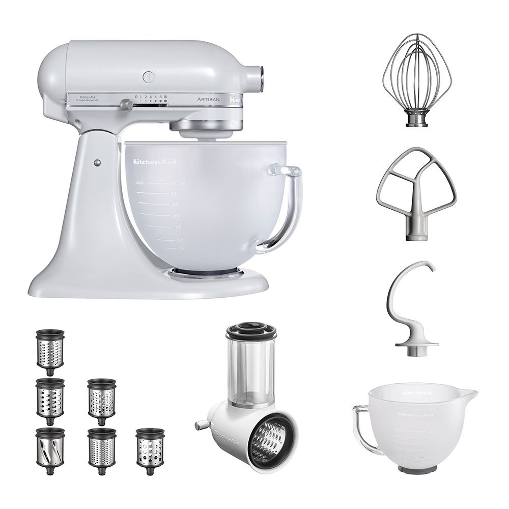 KitchenAid Robot de cocina | fop Juego | Artisan 5 ksm156efp Veggie S del paquete |