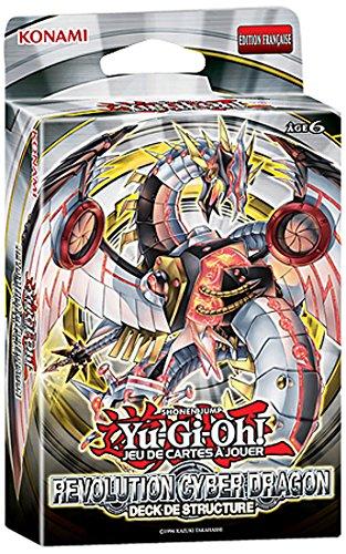 Konami–jccygo216–Kartenspiel–Struktur Deck Yu-Gi-Oh. Revolution Cyber Dragon (FR Import)