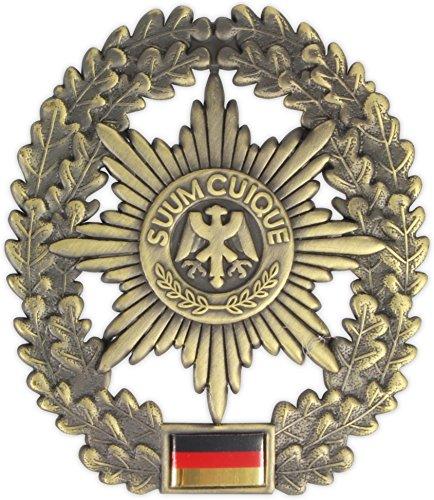 Original Bundeswehr Barettabzeichen aus Metall in verschiedenen Sorten zur Auswahl Farbe Feldjäger