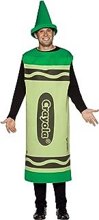 Green Crayola Crayon Men's Costume
