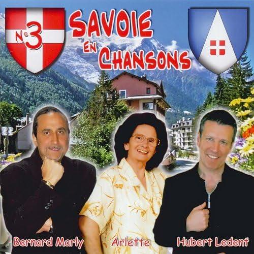Bernard Marly, Arlette & Hubert Ledent