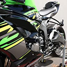 Shogun Motorsports Ninja ZX6R ZX-6R ZX 636 2019 NO Cut Black Frame Sliders - MADE IN THE USA