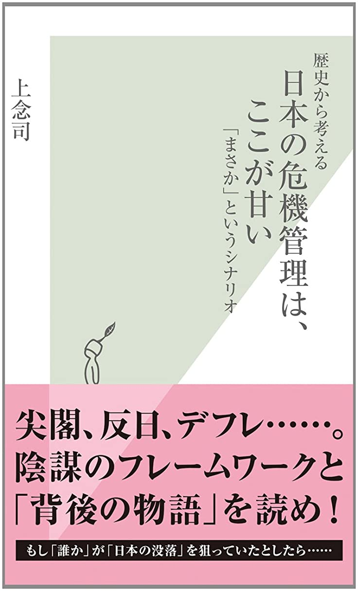 褐色コンデンサー墓地歴史から考える 日本の危機管理は、ここが甘い~「まさか」というシナリオ~ (光文社新書)