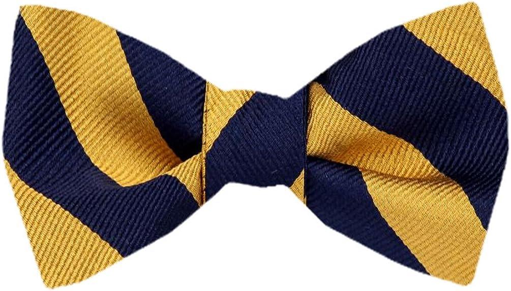 FBTZ-1506 - Men's Silk Self Tie Bowtie Tie Yourself Bow Ties