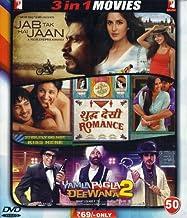 Jab Tak Hai Jaan/Shudh Desi Romance/Yamla Pagla Deewana 2
