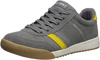 Skechers Womens 966 Zinger - Suede Retro Trainer