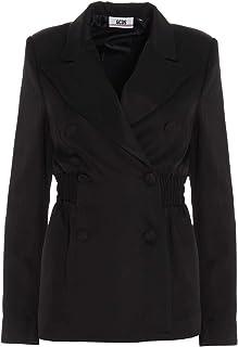 GCDS Luxury Fashion Donna FW21W02010202 Nero Viscosa Giacca Outerwear | Autunno-Inverno 20